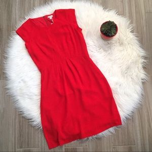 Fossil Annie Red Dress Size 4 WC8527616